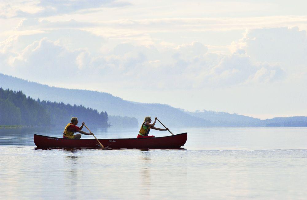 Der Ausgleich für Wander-Anfänger: Kanufahren im Saimaa-Seengebiet