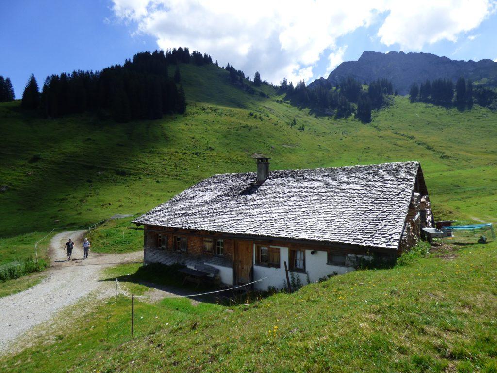 Hütte im Bregenzer Wald.