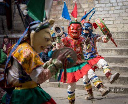 Nepal ganz laut: Die Mani Rimdu Dances