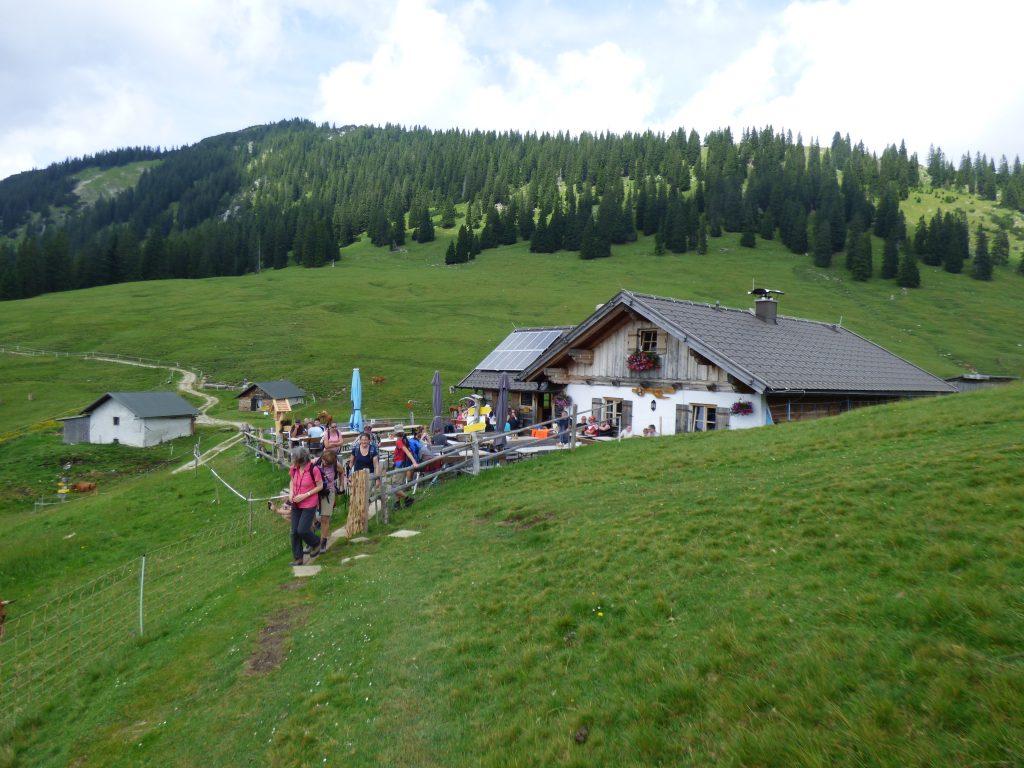 Almhütte bei Garmisch.