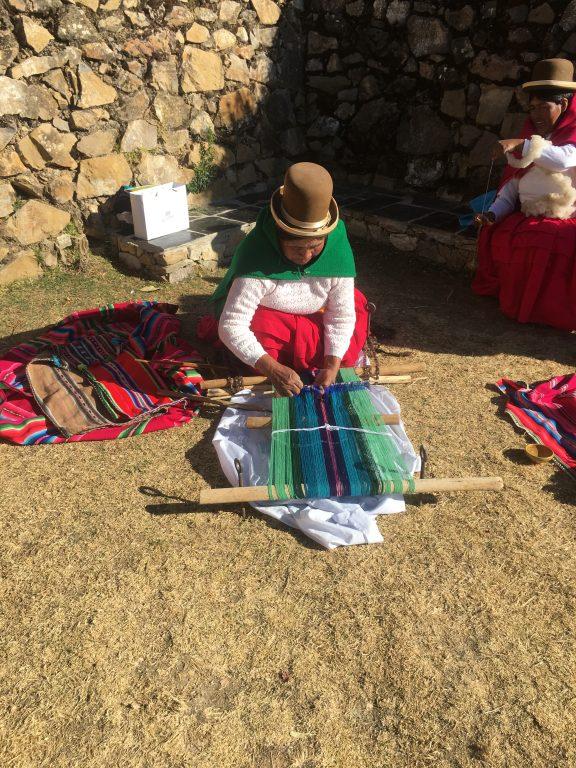 Handwerkskunst auf der Isla del Sol