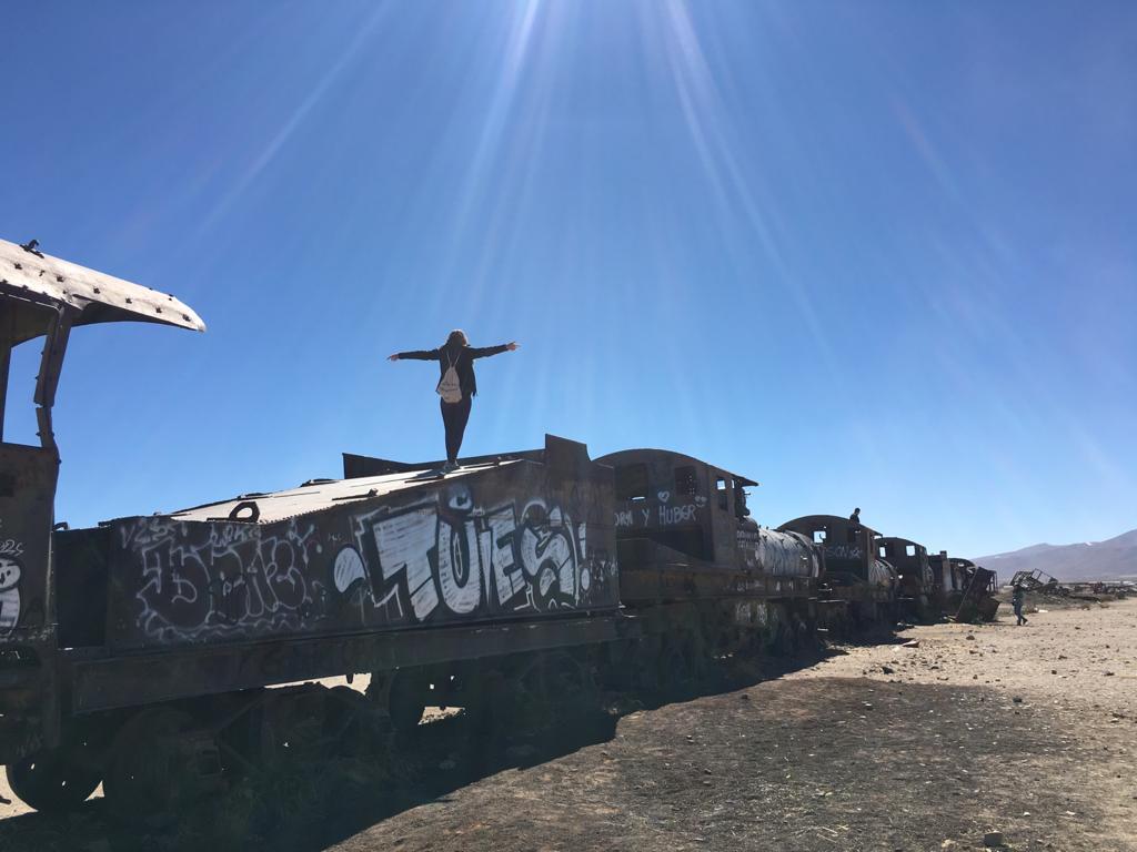 Bolivien Reisetipp: Eisenbahnfriedhof