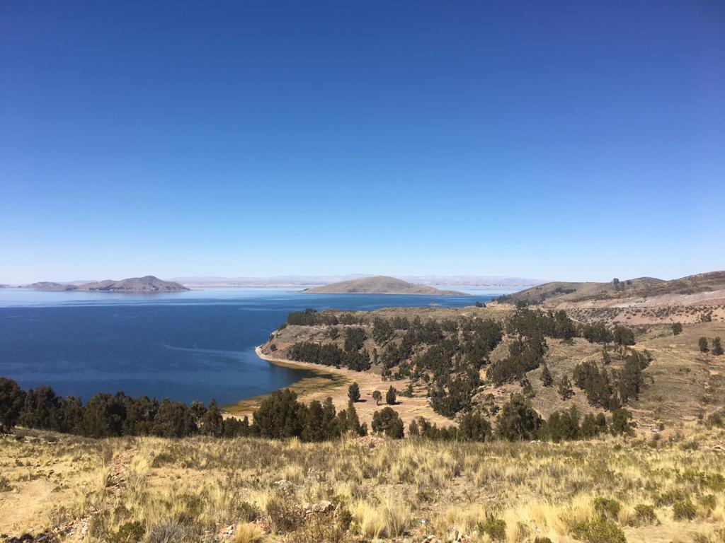 Bolivien Reisetipp: Blick auf den Titicaca-See