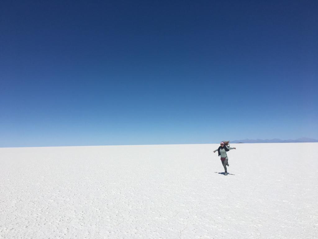 Im Inneren der Salzwüste