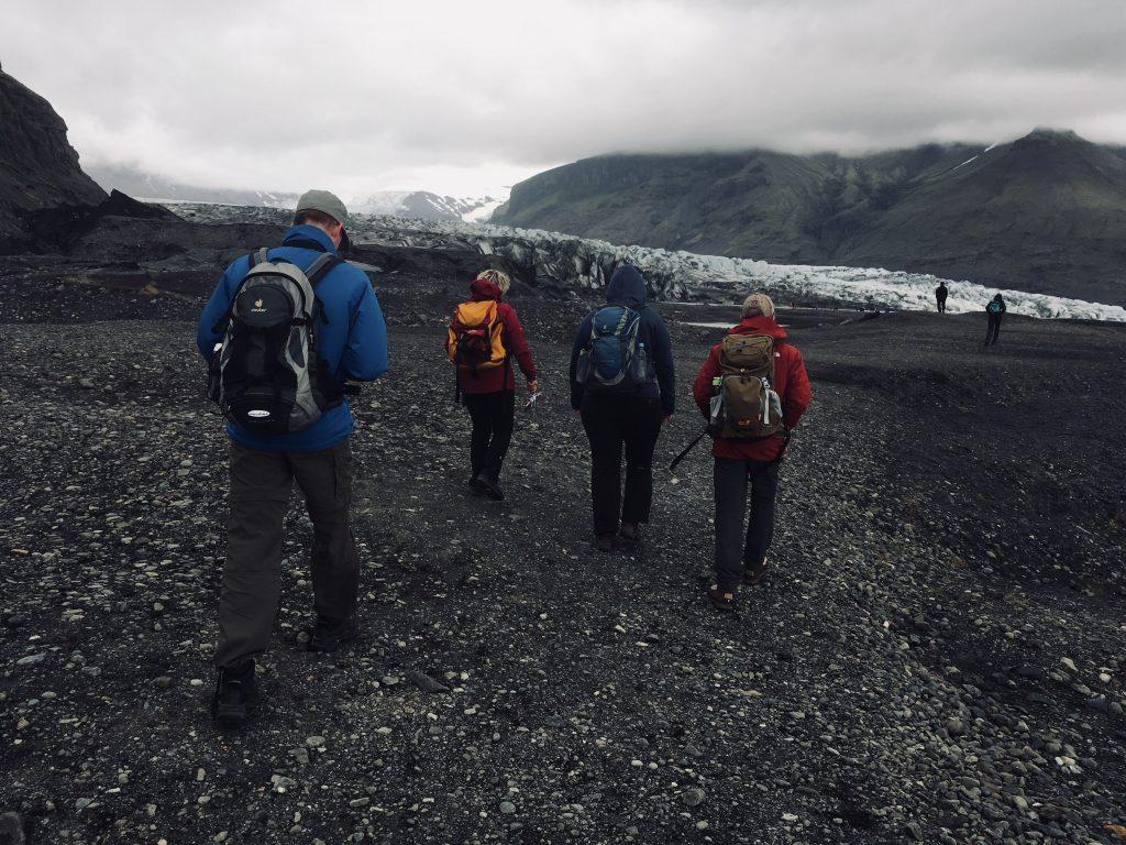 Warme Socken beim Wandern in Island