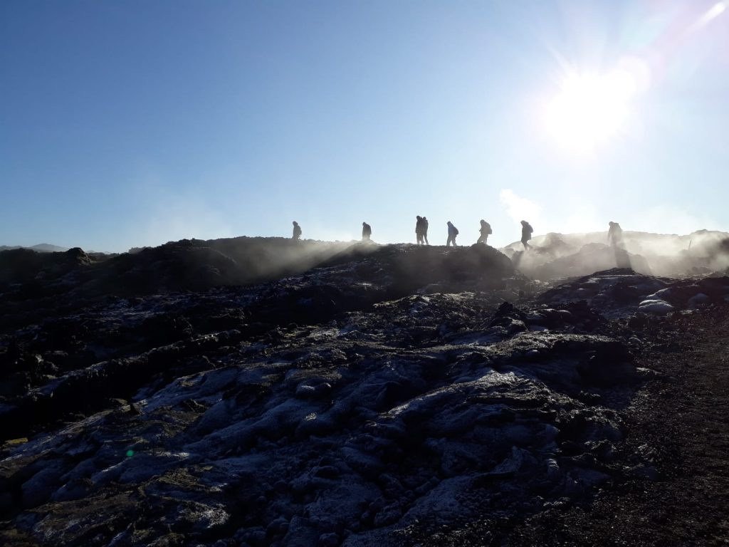 Nordeuropas Schätze: Wanderung im Krafla-Gebiet