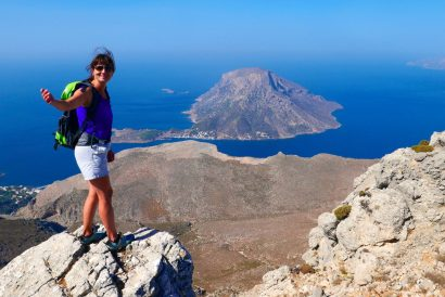 Wandern auf dem Kalymnos Trail