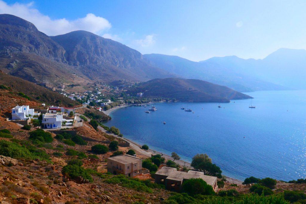 Ausblick auf die Küste von Kalymnos