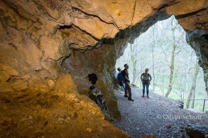 Höhlenwanderung auf der Schwäbischen Alb