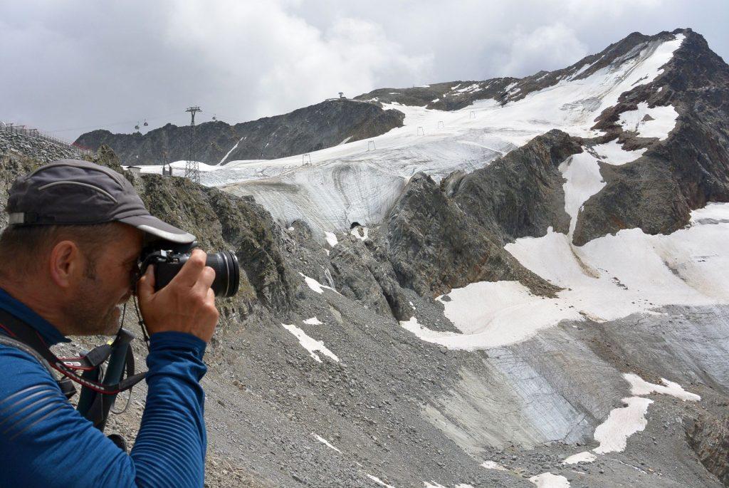 Gletscher im Focus
