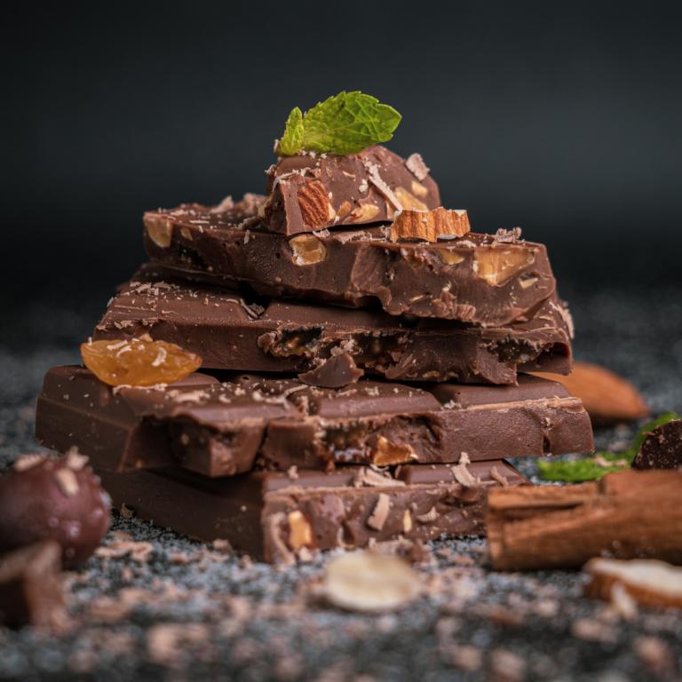 10. Süßes Finale – Schokolade