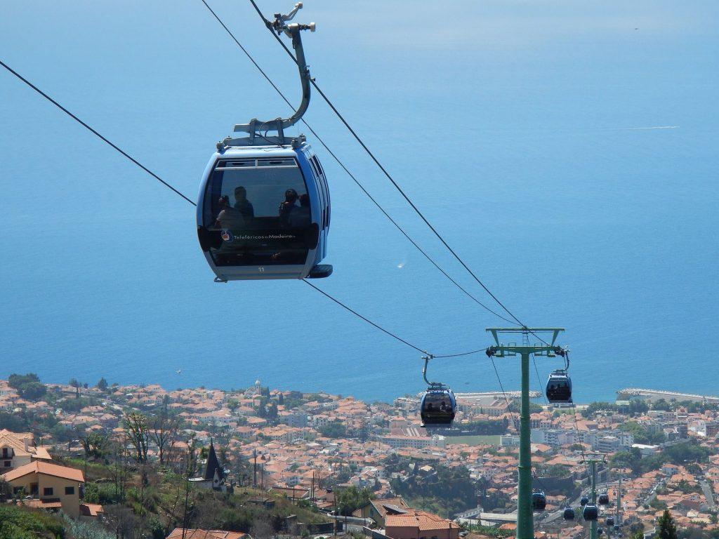 Seilbahn Funchal-Monte